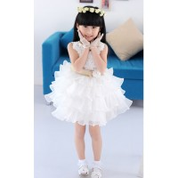 CC0001D Children Princess Flower Girl Wedding Dress