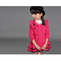 CC0009D Korean New Children Flowers Cardigan Jacket