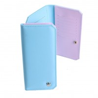 W0004M  Korean Fashion Student Sweet Crown Wallet