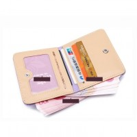 W0005M Korean Mini Cute Students Scrub Wallet