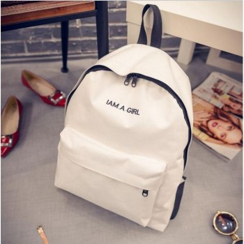 WB0008M New Korean Version Casual Backpack