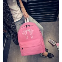 WB0040M New Korean Fashion Canvas Backpack