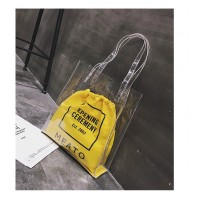 WB0063 New Transparent Shopping Shoulder Bag