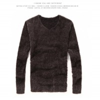 MS0006 Korean Fashion V-Neck Knit Sweater
