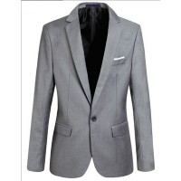 MS0038D New Korean Slim Men's Suit Jacket