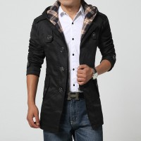 MS0040D Men's Fashion Long-Sleeved Windbreaker Jacket