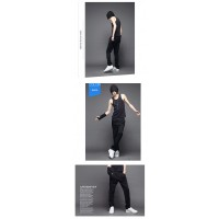 MS0048D Korean Youth Men's Casual Sport Pants