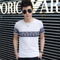 MS0084D Summer Korean New Slim Casual T-Shirt