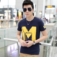 MS0086D Summer Korean New Slim Casual T-Shirt