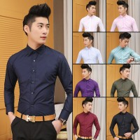 MS0090D Summer Korean Wedding Dress  Slim Shirt
