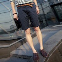 MS0094D Japanese Summer Cotton Casual Shorts