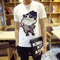 MS0100D Crayon Shin-Chan Summer Short-Sleeved Round Neck Slim T-Shirt