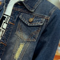 MS0103D European New Fashion Denim Jacket