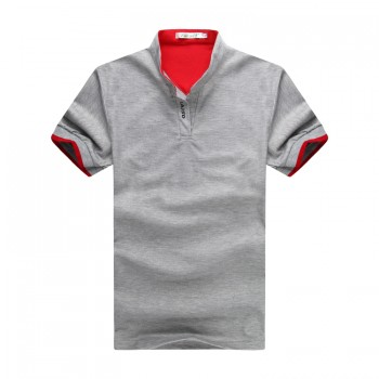 MS0114D New Specially Designed Collar Slim Casual POLO Shirt