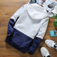 MS0137D Korea Spring Slim Casual Hooded Jacket