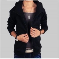 MS0154D Winter Hooded Sweater Jacket