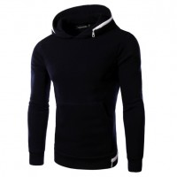 MS0156D Korean Fashion Slim Casual Hooded Sweater