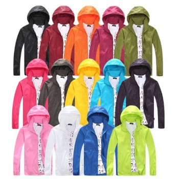 MS0204 New Korean Waterproof UV Coat