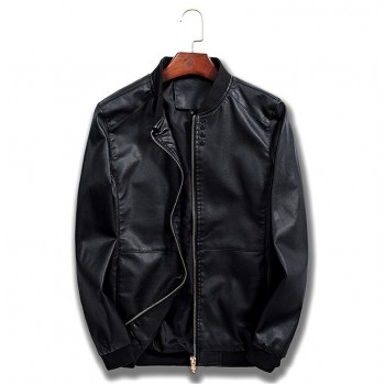 MS0219 Korean cowboy leather jacket