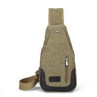 MB0002D Korean Casual Canvas Messenger Bag