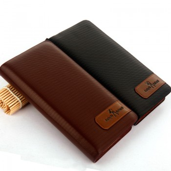 MW0005D New Zipper Men Long Wallet