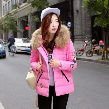 WW0002D Korean New Winter Female Slim Coat Jacket