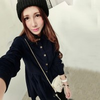 WS0029D Spring New Korean Fashion Dress Jacket