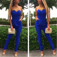 WS0025M New Fashion Women Sexy Jumpsuit