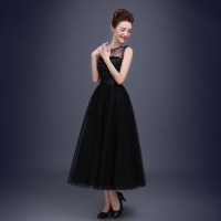 WS0044M New Fashion Simple Evening Dress