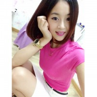 WS0069D Summer Korean Slim Solid Color T-Shirt