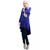 WS0079D The New Muslim Loose Shirt Dress