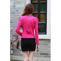 WS0106 Spring Korean Small Suit Jacket