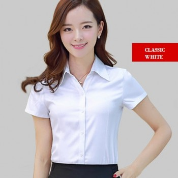 WS0168 Summer Short Sleeve Professional Shirt