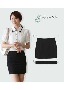 WS0172 Spring and Summer Korean OL Professional Skirt