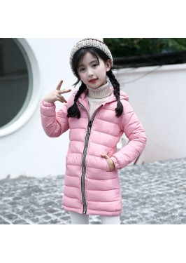 CC0021 Korean Version of the Autumn and Winter Children Hooded Jacket